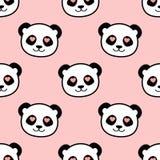 Panda étant amoureux Illustration Libre de Droits