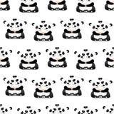 2018 01 panda καρτών 26_craft διανυσματική απεικόνιση
