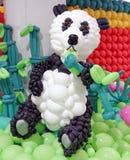 Panda μπαλονιών Στοκ Εικόνες