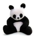 Panda. A lovely panda bear on white background Stock Photography