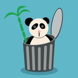 Panda Illustrazione Vettoriale