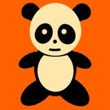 Panda. Illustration a cute panda bear Royalty Free Stock Images