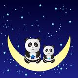 Panda. Cute panda picture  design Stock Photo