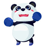 Panda. On a white background Royalty Free Stock Images