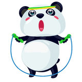 Panda. On a white background Royalty Free Stock Photography
