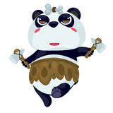Panda. On a white background Stock Images