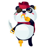 Panda. On a white background Royalty Free Stock Photos