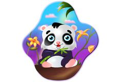 Panda fotografia de stock