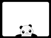 Panda animale del blocco per grafici Immagine Stock Libera da Diritti