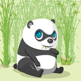 Panda Baby Cute Cartoon Character-Vector royalty-vrije illustratie
