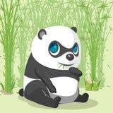 Panda Baby Cute Cartoon Character vektor royaltyfri illustrationer