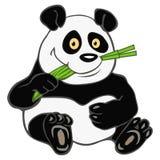 Panda bamboo Royalty Free Stock Photo
