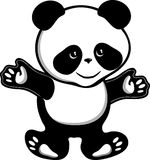 Panda bear. This image is a vector illustration and can be scaled to any size without loss of resolution. This image will download as a .eps file. You will need Royalty Free Stock Photography