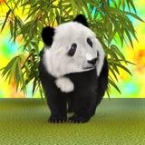 Panda Bear Cub Stock Image