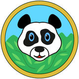 Panda bear head Royalty Free Stock Image