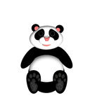 Panda Bear Illustration. For greeting card or children's story book Royalty Free Stock Photo