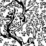 panda bezszwowa ilustracji