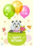 Panda birthday Royalty Free Stock Photography