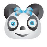 Panda blu Fotografia Stock Libera da Diritti