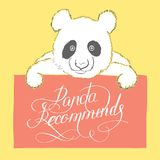 Panda bonito Imagem de Stock