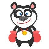 Panda boxer Stock Photography