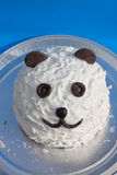 Panda cake Royalty Free Stock Photos