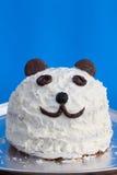 Panda cake Royalty Free Stock Photo
