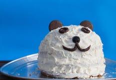 Panda cake Stock Image