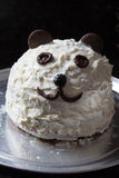 Panda cake Royalty Free Stock Image