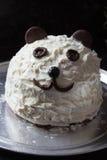 Panda cake Royalty Free Stock Image