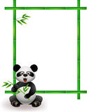 Panda cartoon Royalty Free Stock Image