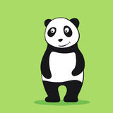 Panda cartoon character Royalty Free Stock Image