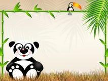 Panda cartoon Royalty Free Stock Photo
