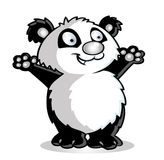 Panda cartoon Royalty Free Stock Image