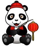 Panda cartoon Stock Photos
