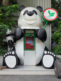 PANDA CASH MACHINE Stock Photography