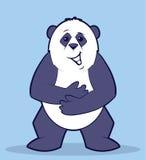 Panda Character Arkivbild