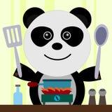 Panda chef Royalty Free Stock Photos