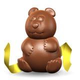 Panda Chocolate with Ribbon Stock Image