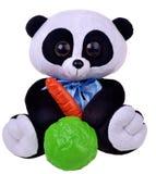 Panda con las verduras Imagenes de archivo