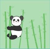 Panda Cute Cartoon. Cute Panda cartoon for website, t-shirt kids, drawing books. wallpaper bedroom Stock Photo