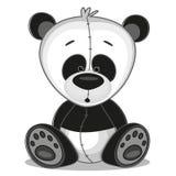 Panda. Cute Panda isolated on a white background Stock Photos