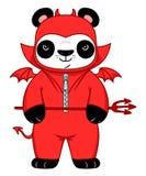 Panda démoniaque Illustration Libre de Droits