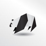 Panda d'origami Illustration de Vecteur