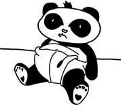 Panda de chéri illustration de vecteur
