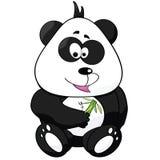 Panda de dessin animé Image libre de droits