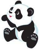 panda de dessin animé Illustration Libre de Droits