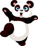 Panda de fu de Kung Photos libres de droits