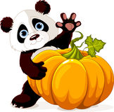 Panda de la cosecha stock de ilustración