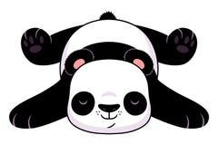 Panda de repos Illustration Stock